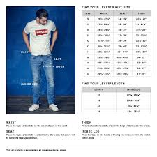 Levis Pants Size Chart Image Result For Levis Men Jeans Size Chart Mens Pants