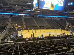 Pepsi Center Seating Chart Nuggets Pepsi Center Section 104 Denver Nuggets Rateyourseats Com