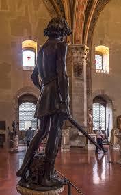 Andrea del Verrocchio Sculpture David Bargello Florence