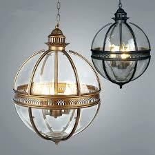 paper globe chandelier globe pendant light vintage loft lights wrought iron glass shade kitchen dinning hanging