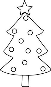 Clipart Picture Of A Gold Outlined Christmas TreeChristmas Tree Outline Clip Art