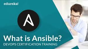 What Is Ansible Ansible Tutorial For Beginners Devops Tools Devops Training Edureka