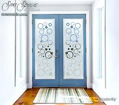 front doors with frosted glass interior etched glass doors geometric contemporary front door frosted glass