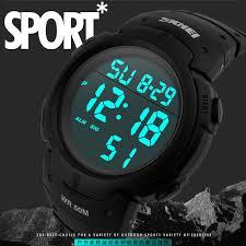 skmei luxury brand mens sports watches dive 50m digital led desc desc desc