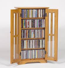 leslie dame wall hanging multimedia cabinet in oak com rotating media storage tower leslie dame deluxe cabinet glass door