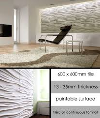 ripples decorative 3d wall panelling