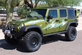 2007 jeep wrangler custom 4 door war wagon front