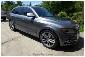 New Car Opti Coat: 2014 Audi SQ5 Monsoon Grey Raleigh, Cary, Durham