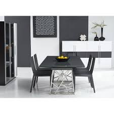 dining room  bellini modern living borg expandable dining table