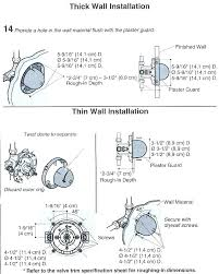 installing a shower valve delta shower valve installation instructions delta shower faucets installation delta shower valve