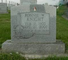 Ronnie W. Knight (1955-2007) - Find A Grave Memorial