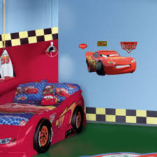 Lightning Mcqueen Bedroom Decor Fathead 39 In X 20 In Lightning Mcqueen Wall Decal Fh15 15999
