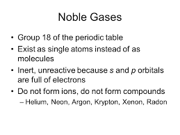 DAILY QUESTION October 3, Group 18 on the periodic table is ...
