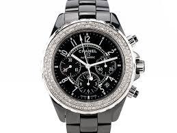 chanel j12 diamond ceramic diamond set chronograph automatic watch chanel j12 diamond ceramic diamond set chronograph automatic watch