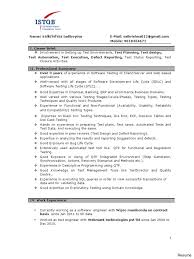 Software Tester Resume Sample Qa Manual Tester Sample Resume Awesome Best Software Testing 8