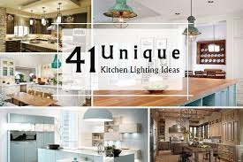 unique kitchen lighting ideas. Unique Kitchen Lighting Ideas T