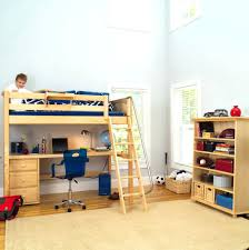 Loft Beds: Loft Bed With Crib Underneath And Desk Beds: