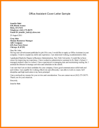 Office Administration Cover Letters 9 Example Of Cover Letter For Admin Job Cains Cause