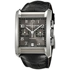 baume et mercier watches jomashop baume et mercier baume and mercier chronograph automatic black dial men s watch