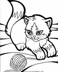 Small Picture Nice Cats Coloring Pages Best Coloring Design 3068 Unknown