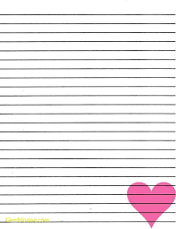Lined Paper Template Kids Lined Paper Template Complete Guide Example 20