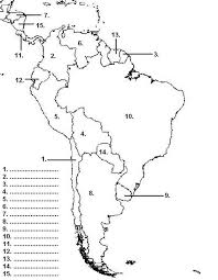 North And South America Blank Map 57 Legible Blank Map South America Pdf