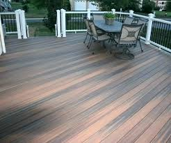 wood deck cost. Composite Wood Deck Cost