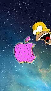 #fxx announces the simpsons 'treehouse of horror' marathon for halloween: Papel De Parede Apple Os Simpsons 2 Iphone Fondos De Pantalla Ideas De Fondos De Pantalla Mejores Fondos De Pantalla Para Iphone