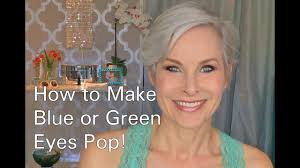 how to do eye makeup to make blue or green eyes pop