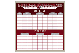 Football Depth Chart Template Excel Format Football