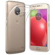 motorola e4 phone case. flexi slim gel case for motorola moto e4 - crystal clear (transparent) phone