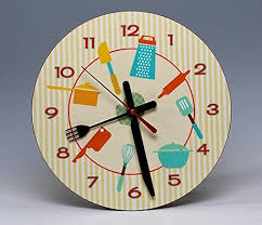 8 quot round kitchen wall clock a whimsical ready to hang decorative piece on whimsical kitchen wall art with amazon 8 round kitchen wall clock a whimsical ready to hang