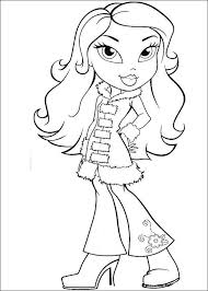 Small Picture 23 best Bratz Coloring Pages images on Pinterest Adult coloring