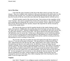 war poetry essays out of the blue poppies and futility  document image preview