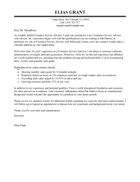 Sample Cover Letter For Automotive Service Advisor Starengineering