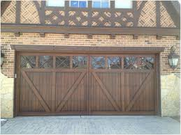 wood carriage house garage door tudor garage door