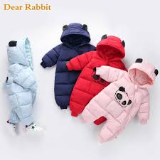 <b>Russian winter new born baby</b> clothes 90% duck down jacket for ...