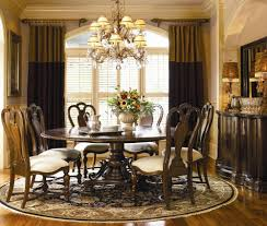 round dining room table sets modern molded plastic chairs padded seat ideas rustic extending dining table