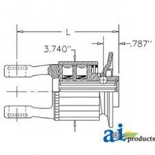 560 parts radial pin clutch 1 3 8 6 qd k34b 8850