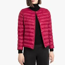 <b>Куртка стеганая</b> легкая бордовый <b>La Redoute</b> Collections   La ...