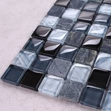 glass mosaic tile backsplash e
