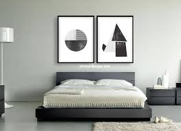 abstract black and white bedroom wall art prints
