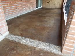 stained concrete slab patio. Delighful Patio Stained Concrete Patio Overlay Installation In Tucson AZ By Arizona  Designs LLC Inside Slab