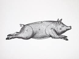 Pig Butcher Chart Art Pin On Bbq