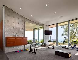 Kurth Residence Home Gym Ideas