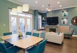 great room furniture ideas. Color Palette Of Soothing Blues And Greens. Modern Furniture From BoConcept Great Room Ideas R