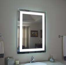amazon wall mounted lighted vanity mirror led mam82836 mercial grade 28 wide x 36 tall home kitchen