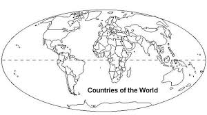 Color Page World Map Under Fontanacountryinn Com