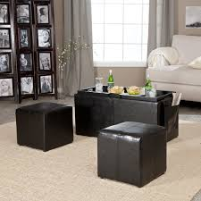 Coffee Table End Tables Belham Living Grayson Tufted Coffee Table Ottoman Ottomans At