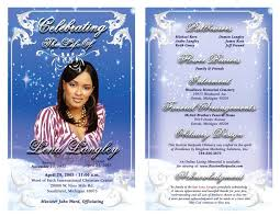 Publisher Funeral Program Template Free Templatefree Ml